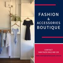 Women's Fashion & Accessories Boutique