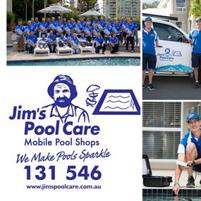 Control your own future. Become your own Boss this year with Jim's Pool Care.