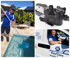 Don't want to go back to the office? New Career by the pool. Jim's Pool Care