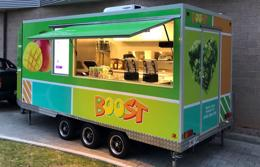 Mobile Boost Juice Van Opportunities Available