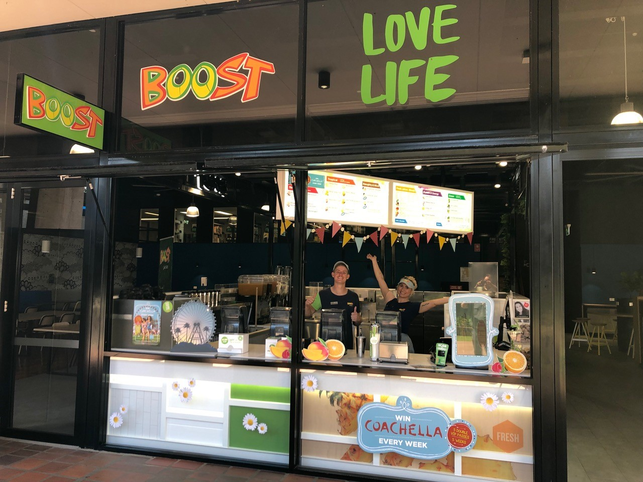 Exciting new opportunity! Boost Juice University of Newcastle
