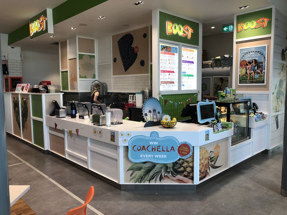 Boost Juice - BP Caboolture- Existing Store