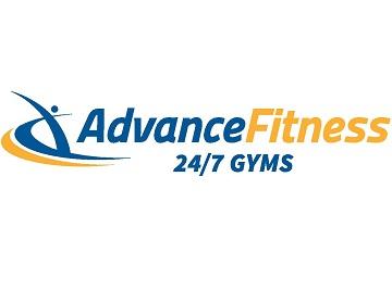 Advance Fitness Franchise Logo