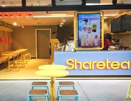 Join Sharetea with your own Bubble Tea Franchise at Westfield Booragoon!
