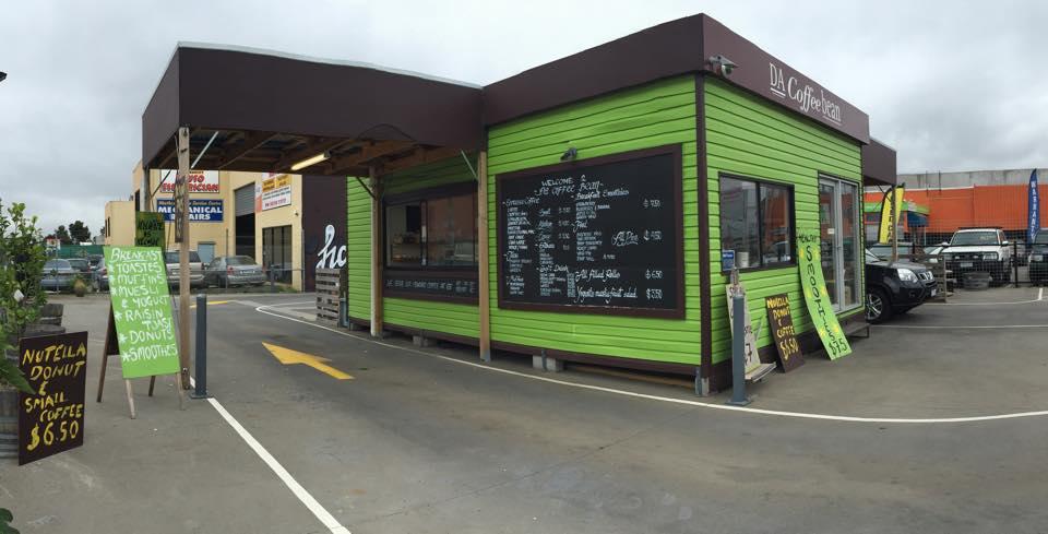 DRIVE THRU CAFE - DA COFFEE BEAN - RENTAL REDUCTION