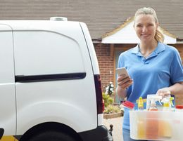 21218 Mobile Cleaning Business - Domestic, Commercial