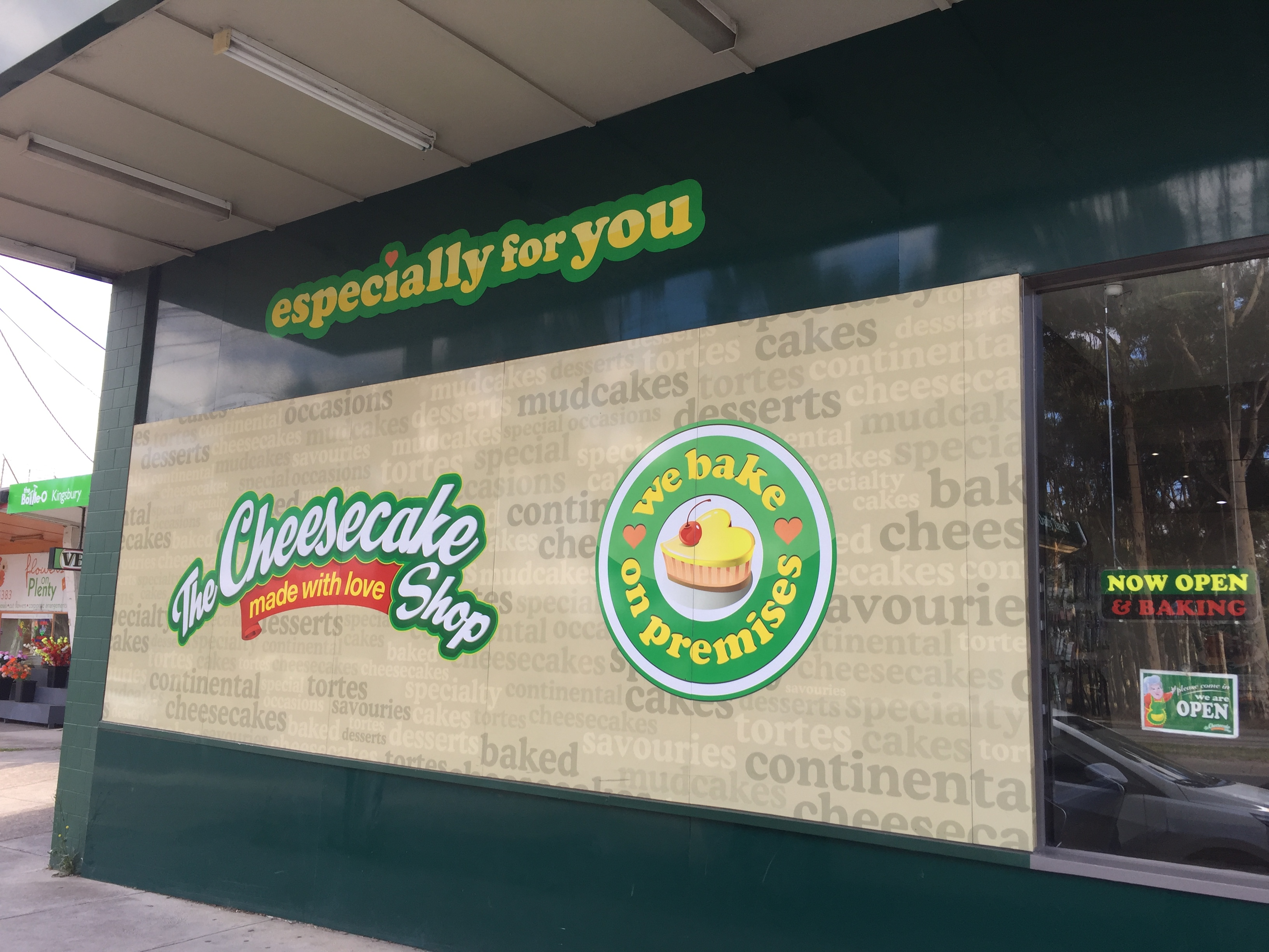 The Cheesecake Shop Bakery Franchise Bundoora