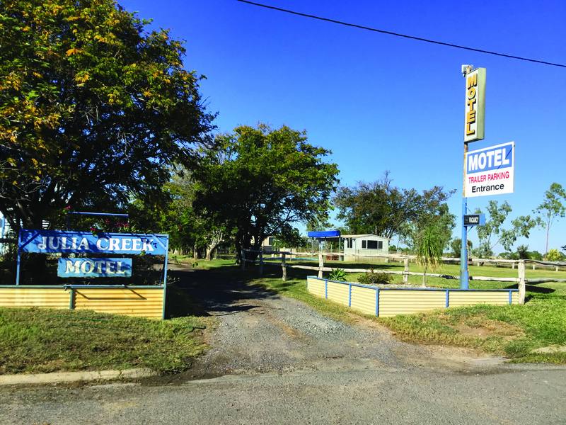 Busy Freehold Motel with Expansion Potential  Julia Creek, Qld