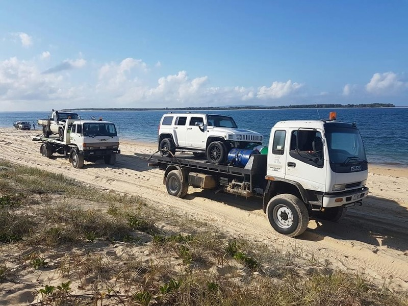 Service Centre and Towing Business at Rainbow Beach and Fraser Island