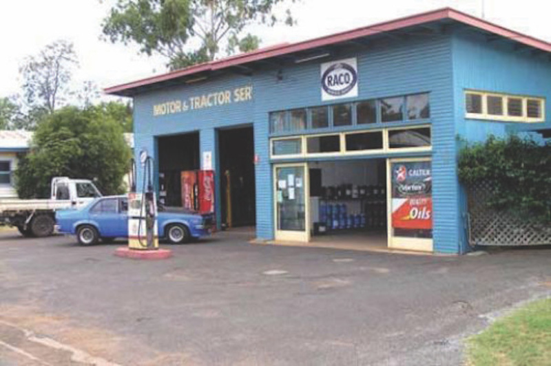 Freehold Auto & Mechanical Repairs Business + Residence  Jandowae, Qld