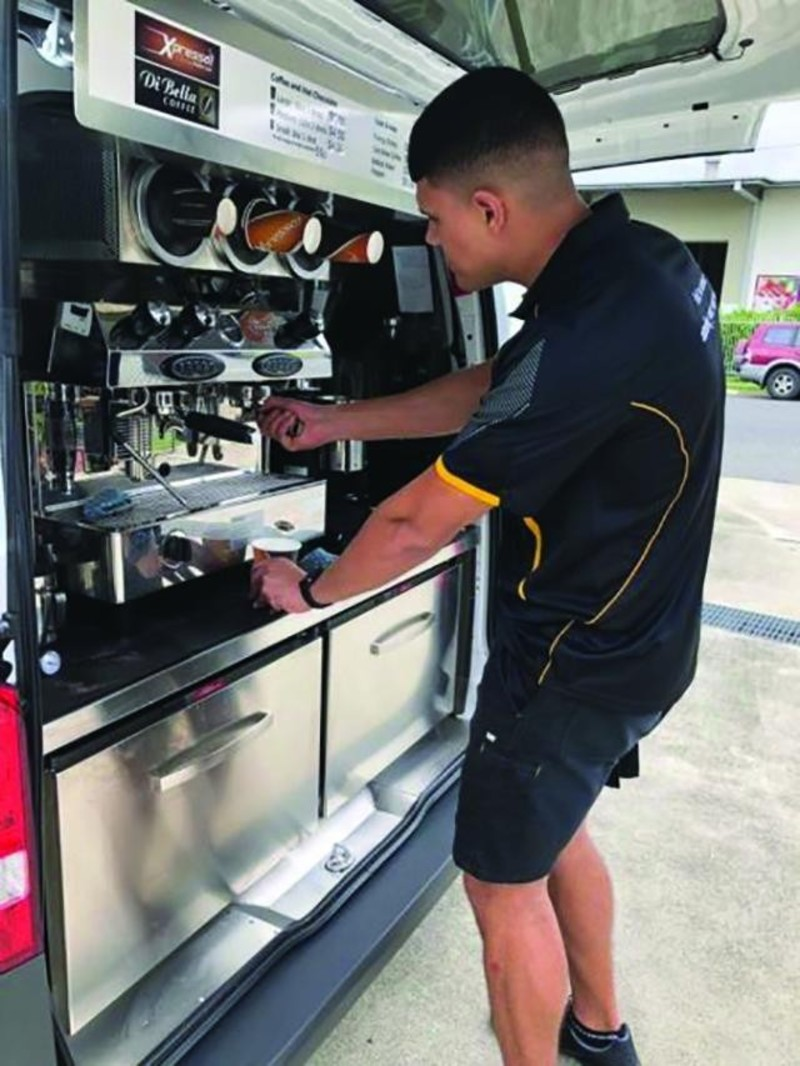 Price Drop Mobile Coffee Van Xpresso Franchise For Sale