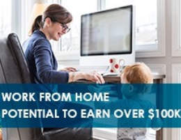 Potential to Earn Over 6 Figures Working From Home. No Tech Skills Needed