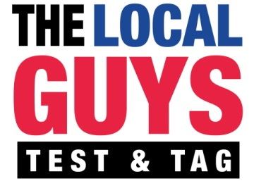 The Local Guys Test and Tag Logo