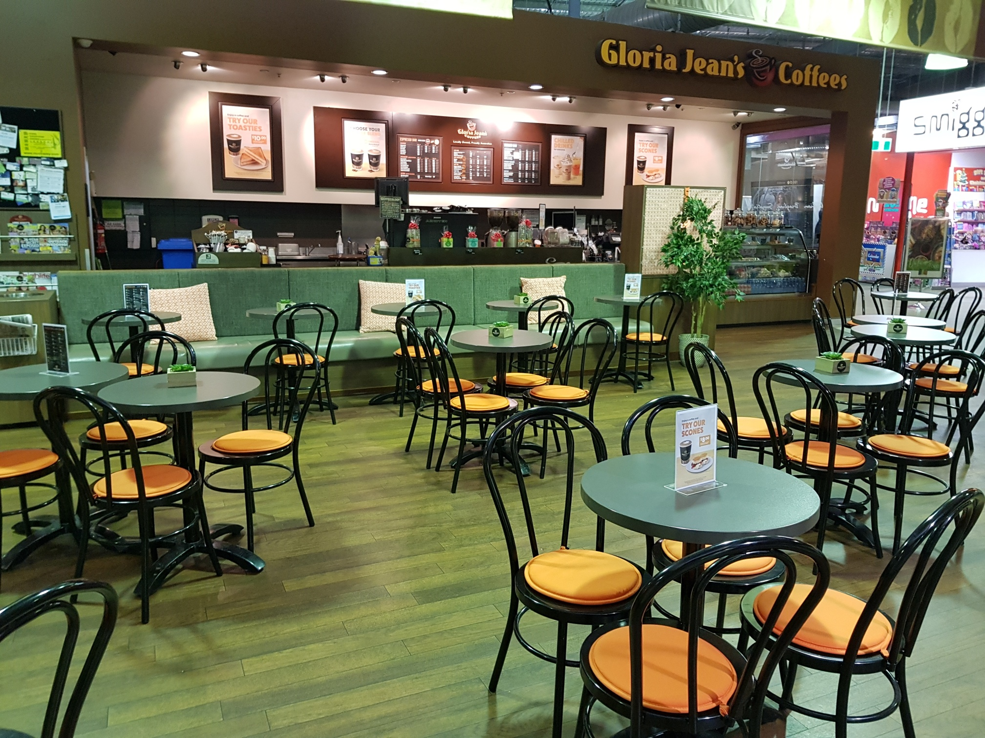 Gloria Jeans Coffees Brisbane South Western Suburbs