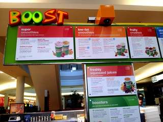 Boost Juice Illawarra Area NSW