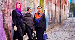 Women's Islamic Clothing. Busy Sydney Rd Location