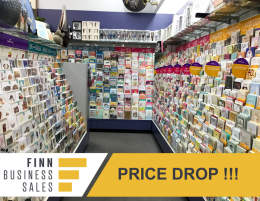 PRICE DROP: Profitable Card And Giftware Store In The Heart Of The City!!!