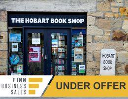 Under Offer! Profitable Long-standing Bookshop in Salamanca Square
