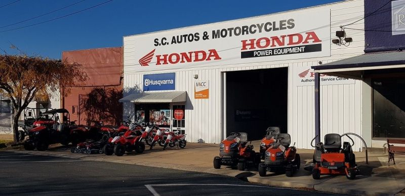 An Established Honda Motorcycle & Power Equipment Dealership