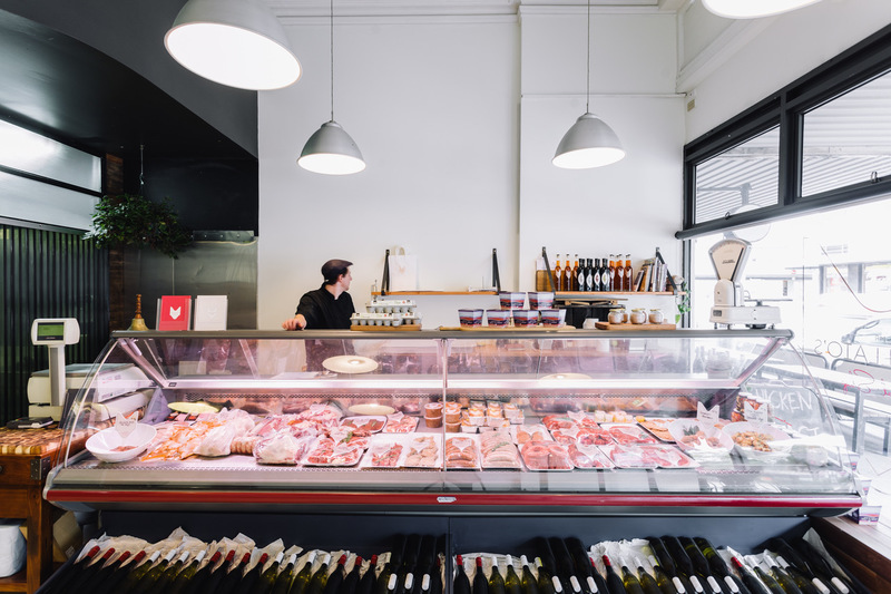 Butcher Shop Richmond, High Foot Traffic, Professional Set up, with Dwelling