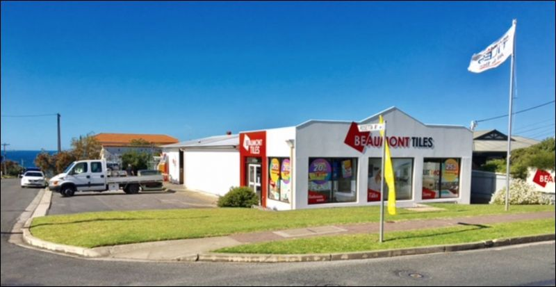 Beaumont Tiles - Victor Harbor - Two decades of trading history. Blue Chip Franc