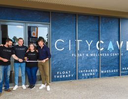 City Cave - Health and Wellness Franchise. Float Therapy, Massage, Sauna