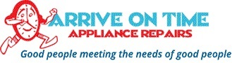 Arrive On Time Appliance Repairs Logo
