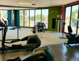 Successful gym & fitness business with huge space & modern equipment.