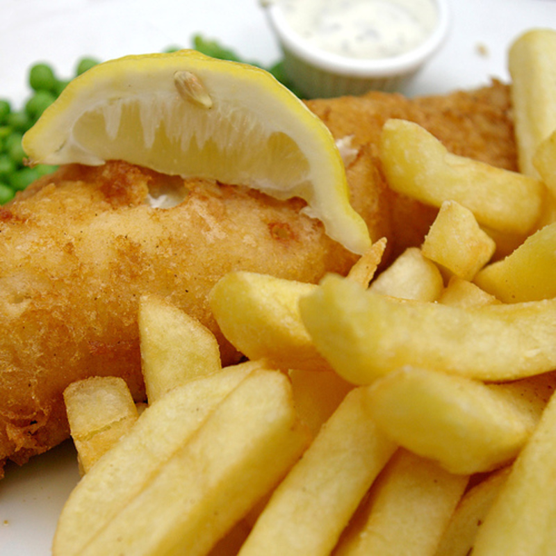 Fish and Chips in South East (With Accommodation)- Ref: 18226