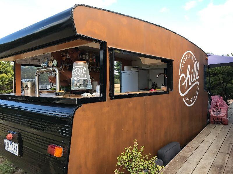Vintage Retro Bar & Catering Caravan (GLJ1797)