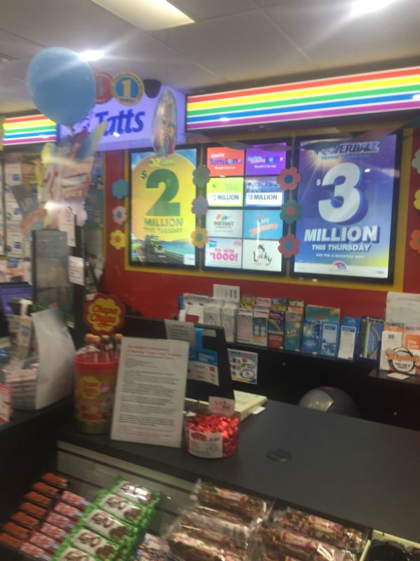 Tattslotto - Tatts / Retail - Ballarat Area (RDT341)