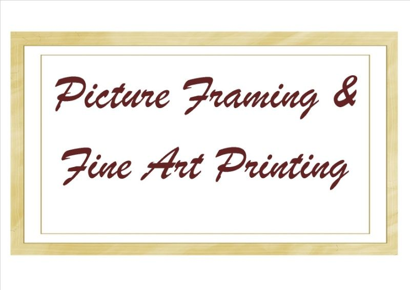 Picture Framing & Fine Art Printing (BL1384)