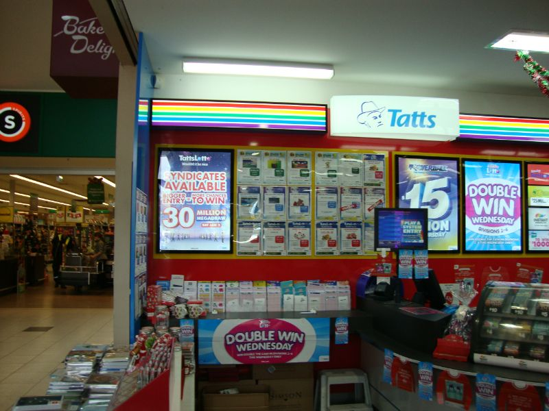 Tattslotto - Tatts - Ocean Grove (RDT324)
