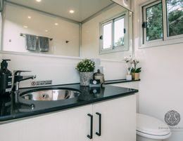 Portable Powder Rooms - Luxury Portable Bathrooms