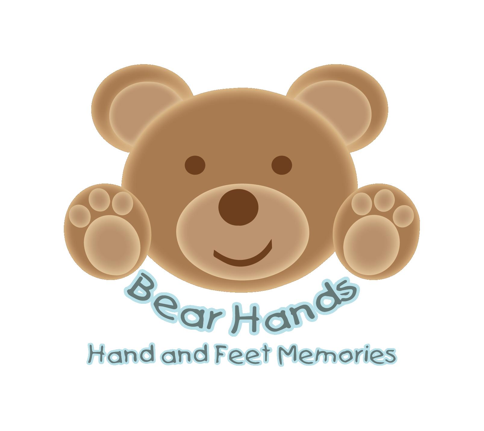 BearHands Hand & Feet Memories Logo