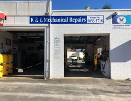 Mechanical repair workshop