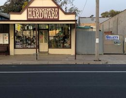 Long established, independent retail hardware store - the only one in town!