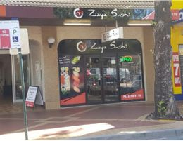 Well established Japanese sushi restaraunt and takeaway in the centre of town.