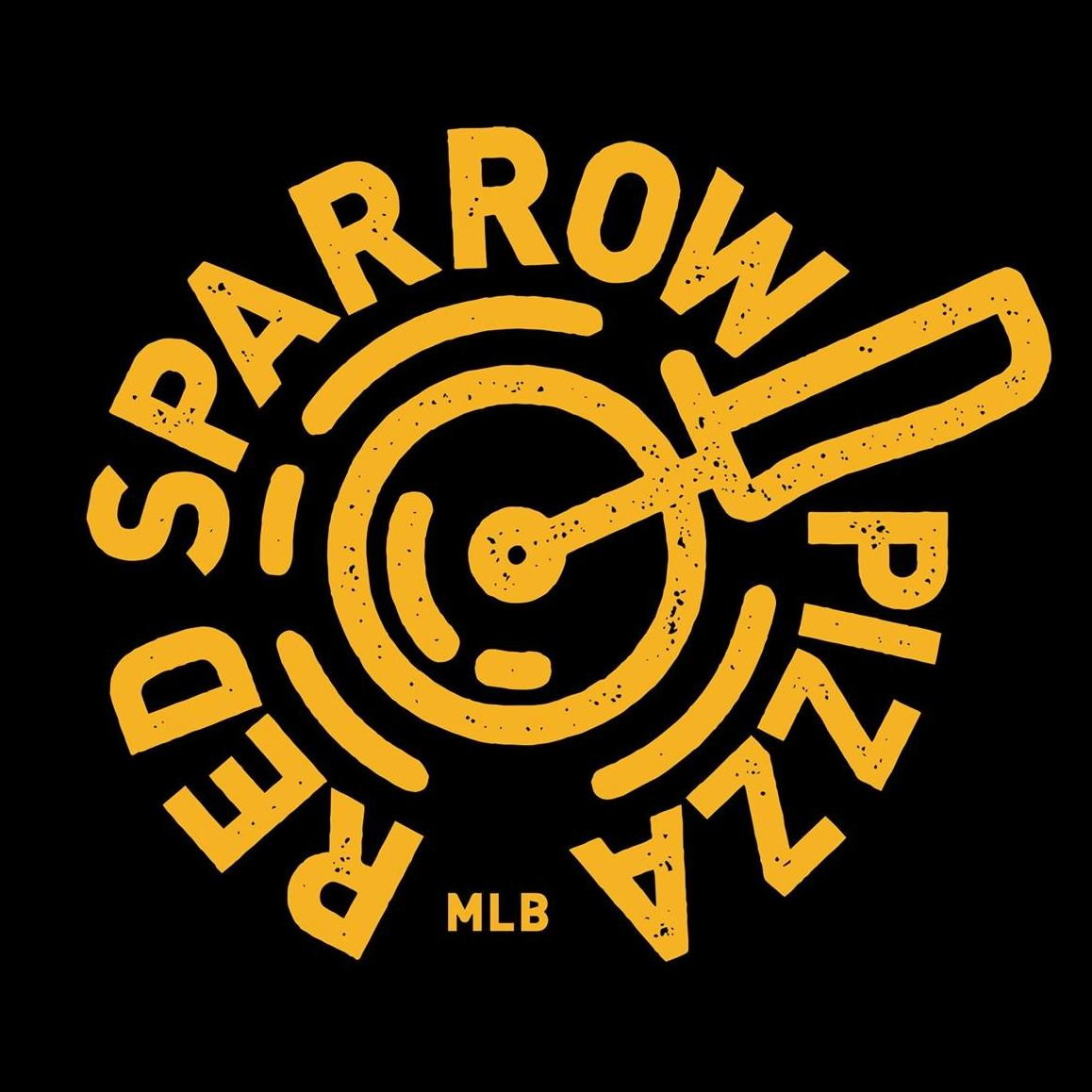 Red Sparrow Pizza Logo