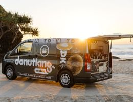 Drive your own road to success with a Donut King Mobile coffee franchise