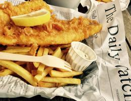 Straight Fish & Chips