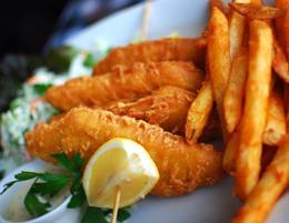 Straight Fish & Chips