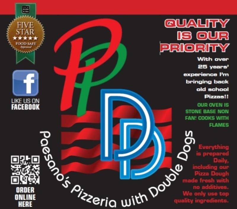 Paesano's Pizzeria & Double Dogs