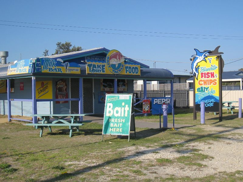 Licensed General Store on the beautiful Golden Beach.