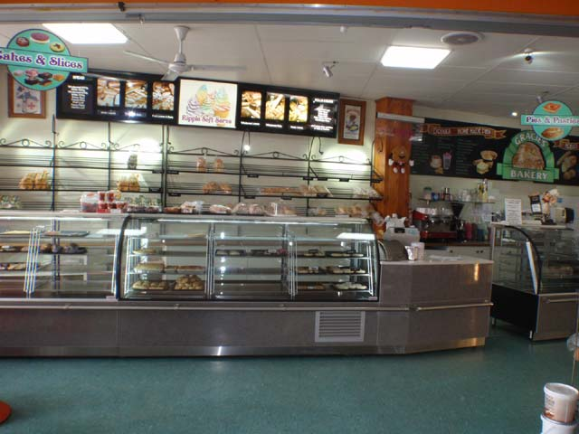 Bakery cafe - right in the centre of the township.