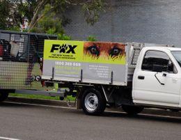 FOX Mowing & Gardening. Larger Territories, Bigger Opportunities, Fairer Fees.