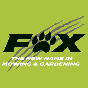 Fox Mowing Logo