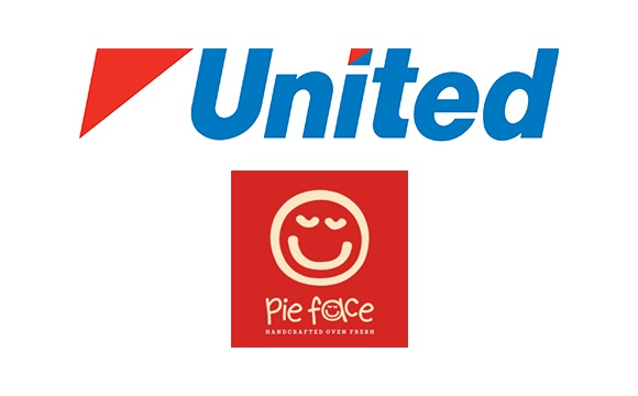 United and Pie Face Commission Agency Logo