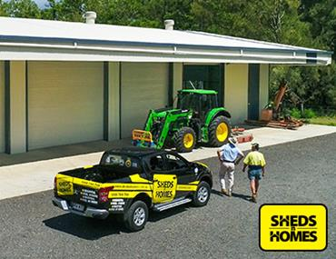 No stock holding/Low entry cost/Great ROI - Sheds n Homes - Townsville