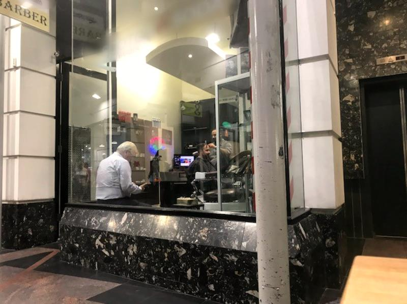 Premier Barbershop in Melbourne CBD (Our Ref: V1239)